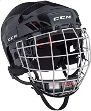CCM Ht50 Hockey Helmet Combo