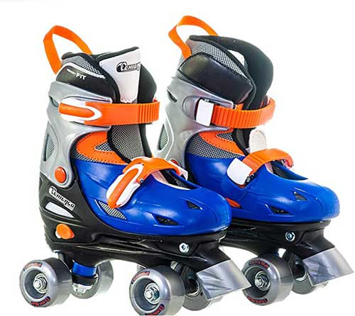 Chicago Boy's Adjustable Quad Roller